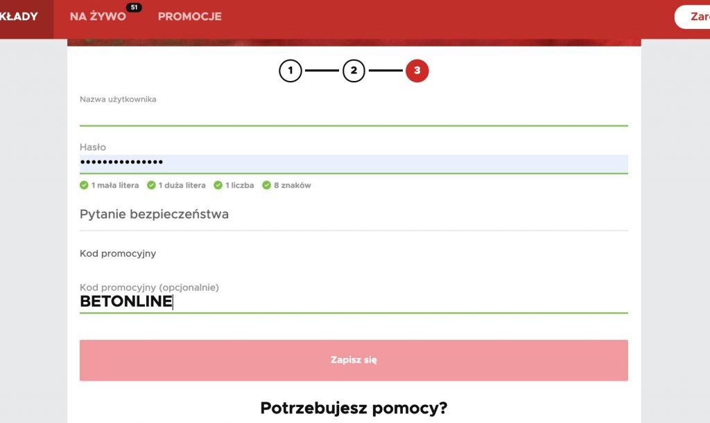 BetClic rejestracja konta w PL. Krok po kroku!